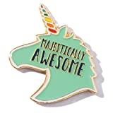 TCDesignerProducts Majestically Awesome Unicorn Appreciation Award Pin