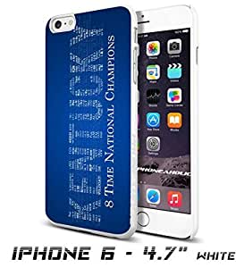 Kentucky University text , Cool iPhone 6 - 4.7 Inch Smartphone Case Cover Collector iphone TPU Rubber Case White [By PhoneAholic]