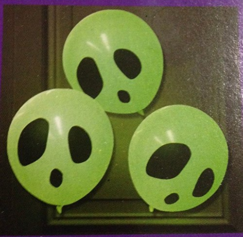 6 Light Up Balloons Glow In The Dark W/ Glow Sticks Halloween Party Decoration (Halloween 6 Producers Cut)