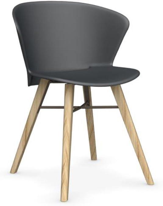 Calligaris Bahia W Sedia Design in Legno massello Rovere
