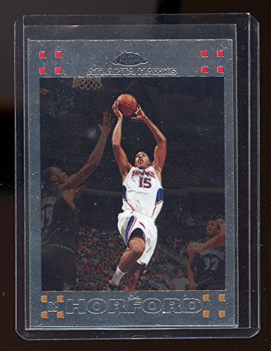 2007-08 Topps Chrome #160 Al Horford Atlanta Hawks Rookie Card - NM/Mint Condition Ships in a New Holder ()