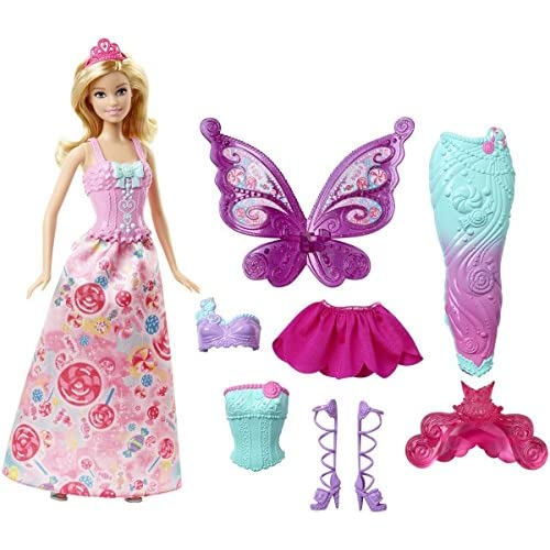 Barbie Fairytale Dress Up Doll
