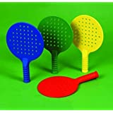 Sports Enry Level Racket Training Aid Intro Skills Bats Set Of 4 - 1 Each Colour by Only Sports Gear