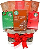Starbucks Christmas Hot Cocoa Variety Decorative Gift Basket - Best Reviews Guide