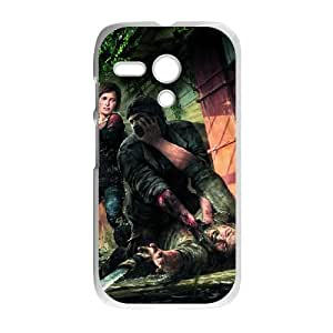 Motorola G Cell Phone Case White_The Last of Us Remastered_017 Fvxjc