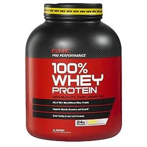 GNC Pro Performance 100% Whey Protein, Banana Cream, 4.77 lbs