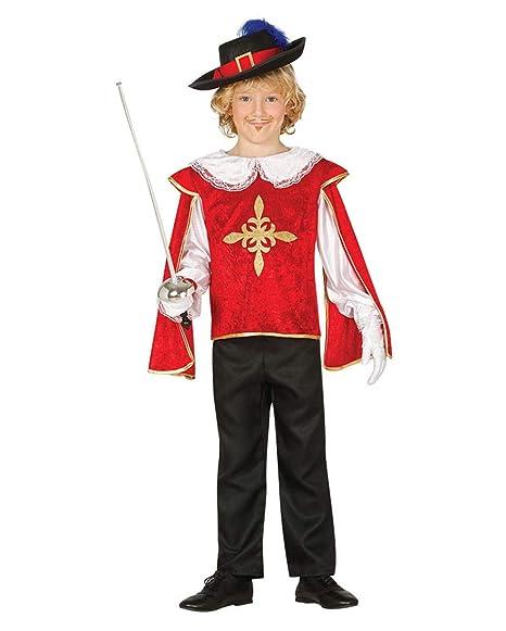 Horror-Shop Costume Moschettiere Rosso-Oro XL  Amazon.it  Giochi e ... 44e052d5d0fe