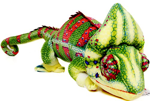 Chameleon Animal (Ahmed the Chameleon | 4 Foot Long (With Tail) Big Stuffed Animal Plush Big Long Lizard | Shipping from Pennsylvania & California | By Tiger Tale Toys)
