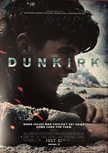 Dunkirk Original Promo Movie Poster 2017 Cinemark Xd Christopher Nolan