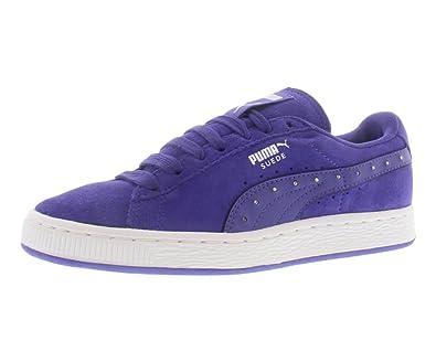 zapatillas hombre puma suede purple