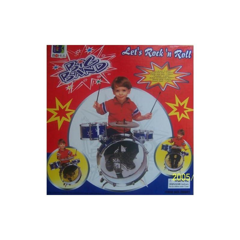 New Child Kid Toy Kids Big Band Drum Set