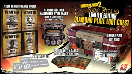 Borderlands 2 Swag Filled Diamond Plate Loot Chest Limited Edition ...