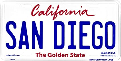 Gift House California License Plate