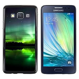 iKiki Tech / Estuche rígido - Aurora boreal - Samsung Galaxy A3