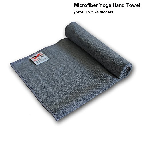Yogaaddict Yoga Mat Towel And Hand Towel Combo Set: YogaAddict Yoga Mat Towel And Hand Towel Combo Set