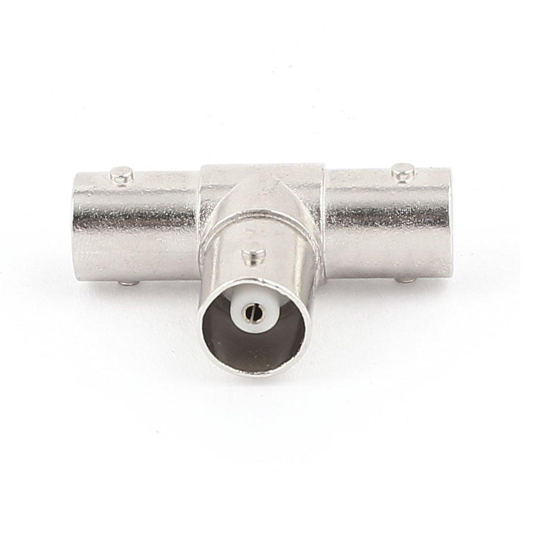 Amazon.com: eDealMax BNC hembra a adaptador de conector BNC hembra Doble T F/F Gato coaxial Línea Para la cámara de CCTV: Electronics