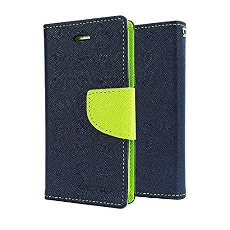 cheap for discount 05c06 50eb2 RIdhaniyaa Wallet Style Diary Flip Cover with Magnetic Lock for Xiaomi  Redmi Y2 (Blue and Green)