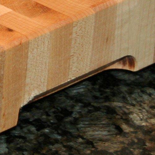 mod/èle Sanguenay Canadian Pure and Simple Planche /à d/écouper Grand Format//Plan de Travail Cuisine en Bois d/érable Massif