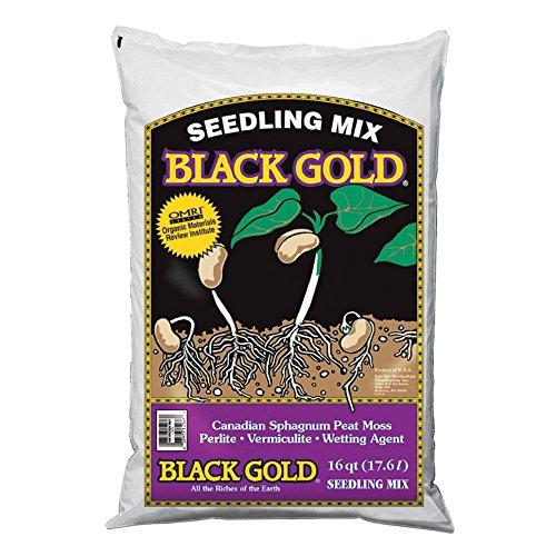 - Black Gold 16 Quart Seedling Mix