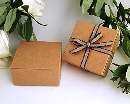Pack de 5 cajas pequeñas de regalo (código F) estraza, cartulina ...