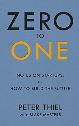 Zero to One- inspirational Business Books