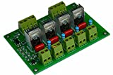 4 Channel DIN RAIL Ac Programmable Light Dimmer Module Controller Board For Arduino and Raspberry Compatible 50/60hz