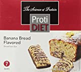 ProtiDIET Delicious Protein Bar | Nutritious Low Fat & Carb Snack With High Vitamins & Minerals | | Healthy & Energizing Small Meal | Assists In Weight Loss (Banana Bread) For Sale