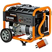 Factory-Reconditioned Generac 6432R GP Series 3,300 Watt Portable Generator (CARB)