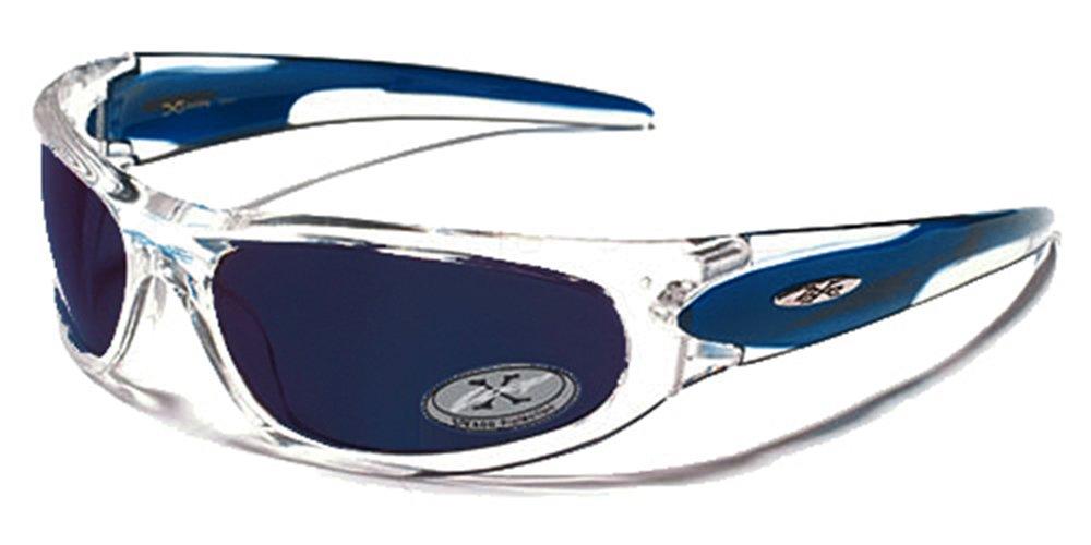 X-Loop Lunettes de Soleil - Sport - Cyclisme - Ski - Conduite / Mod. 1200 Cristal Noir / Taille Unique Adulte / Protection 100% UV400 aArc4OGyo