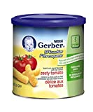 Gerber Zesty Tomato, Corn Snack, 42g canister (6 pack)