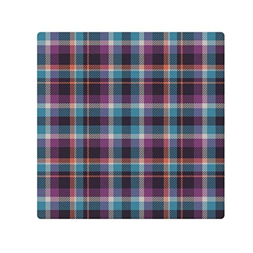 C COABALLA Checkered Comfortable Doormat,Celtic Tartan Irish Culture Scotland Country Antique Tradition Tile Decorative for Home Office,78.7