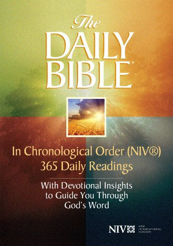 The Daily Bible® - In Chronological Order (NIV®) by [Smith, F. LaGard]