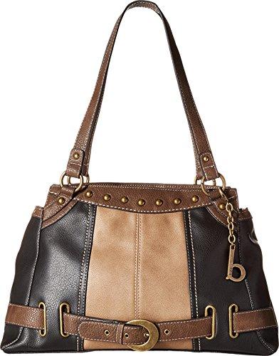 b.o.c. Women's Portman Tote Black/Mink/Chocolate Handbag