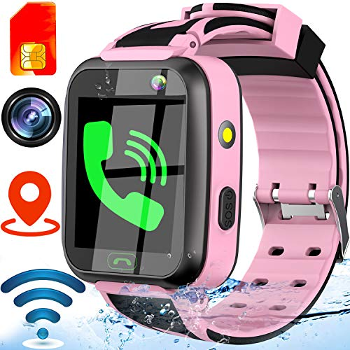 [SIM Card Version] Waterproof Real GPS Tracker Watch,1.4