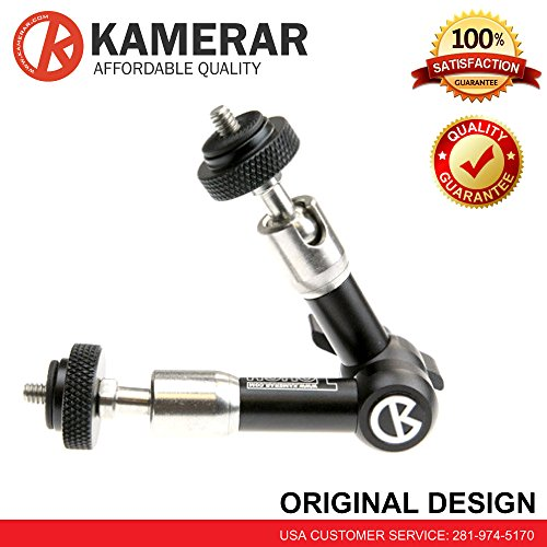 7'' Inch Tough Friction Articulating Magic Arm Kamerar FOR Camera Hot Shoe Mount Monitor by Kamerar