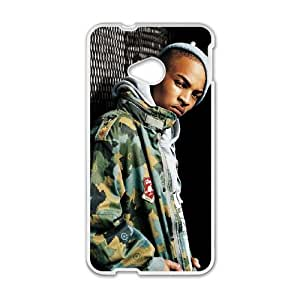 HTC One M7 Cell Phone Case White T.I as a gift D6444851