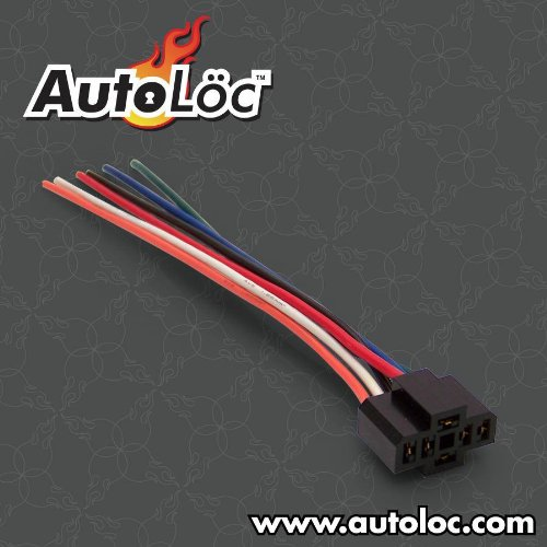 AutoLoc Power Accessories 82348 6 Pin Switch Harness