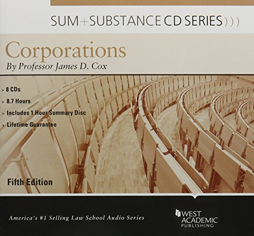 Sum and Substance Audio on Corporations by West Academic Publishing
