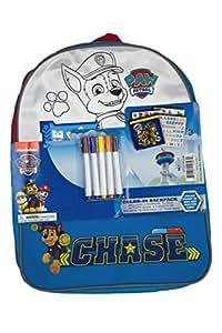 Nickelodeons Paw Patrol Chase Mochila de Colores