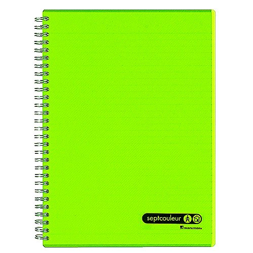 Maruman Lifetime Notebook B5 (6.9x9.8'') - 80 sheets - Green by Maruman