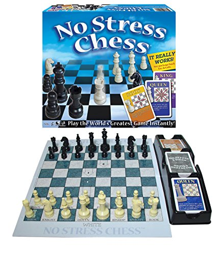 Winning Moves Games 1091 No Stress Chess, Natural