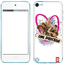 Zing Revolution One Direction Premium Vinyl Adhesive Skin for iPod Touch 5G, Group Pink Heart