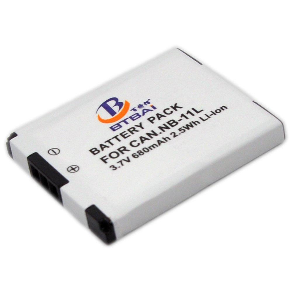 Batterie 680mAh type NB-11L NB-11LH NB11L NB11LH Pour Canon PowerShot SX410 IS