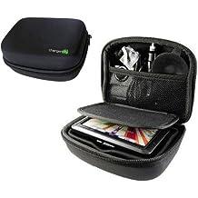 "Charger-City Exclusive Multi-Compartment Hard Case for 5"" GPS Garmin Nuvi 3760 3597 3450 3490 2455 2457 2475 2495 2497 2557 2577 2597 40 42 44 52 54 T LT LM LMT SatNav GPS Receiver"