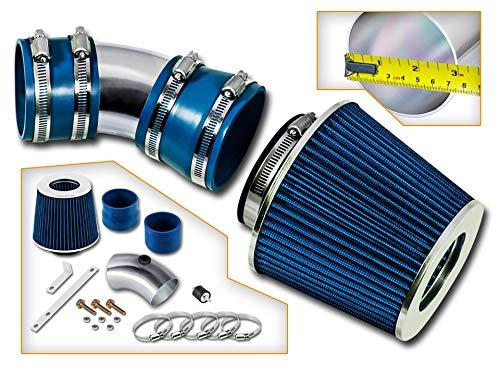 Rtunes Racing Short Ram Air Intake Kit + Filter Combo BLUE For 06-08 Impala 3.5L/3.9L V6 / 06-08 Monte Carlo 3.5L/3.9L V6 …