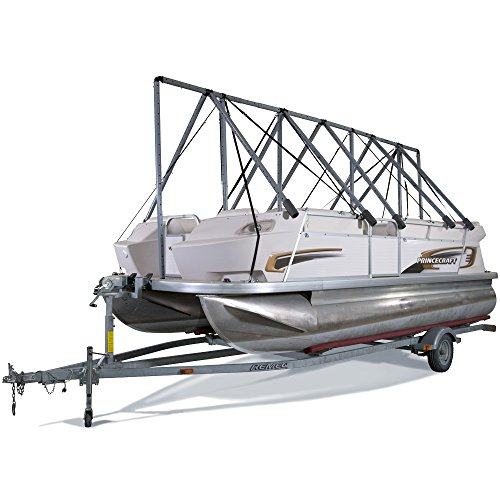NAVIGLOO Boat Cover System Pontoon-Fishing-Runabout 19-22½ with Tarp by NAVIGLOO