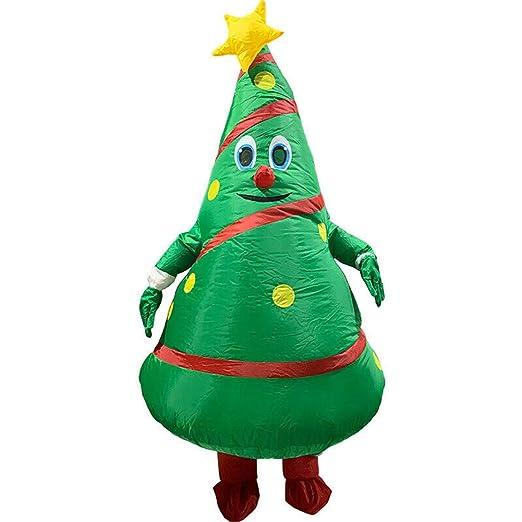 Mahhala Disfraz de árbol de Navidad Inflable, Traje de Halloween ...