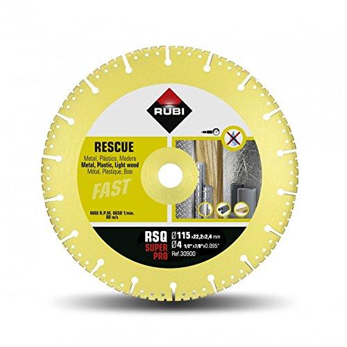 115 mm Rubi 30900 Disco de diamante Gris