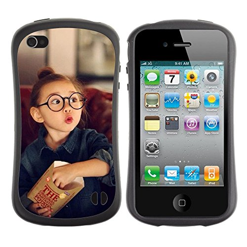 Apple Iphone 4 / 4S [Cute Amazing Expression Little Girl]