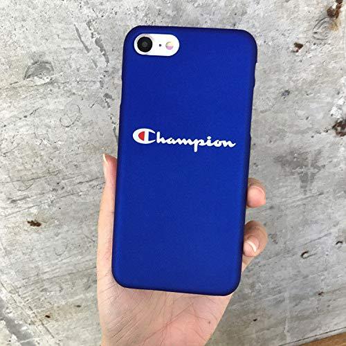 fdbaed7fd91 FidgetGear Fashion Champion Pattern Letter Hard Plastic Phone Case for  iPhone X 6 7 8 Plus